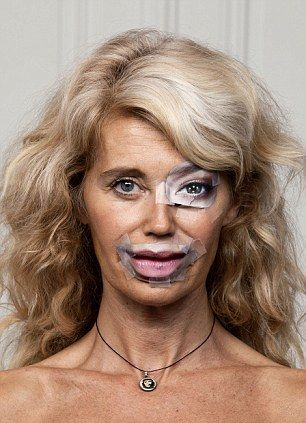 Artists Perform Plastic Surgery With Magazines