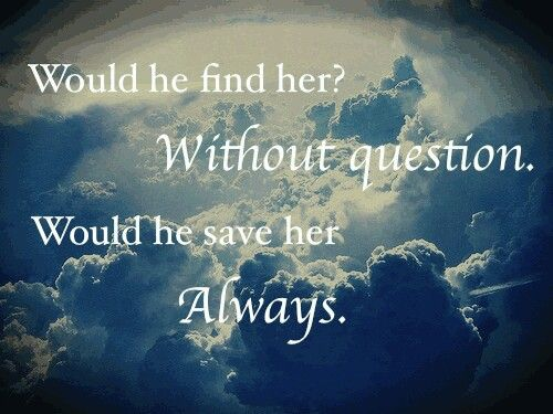 Fallen Series by Lauren Kate Like my favourite quote!:D So beautiful!!