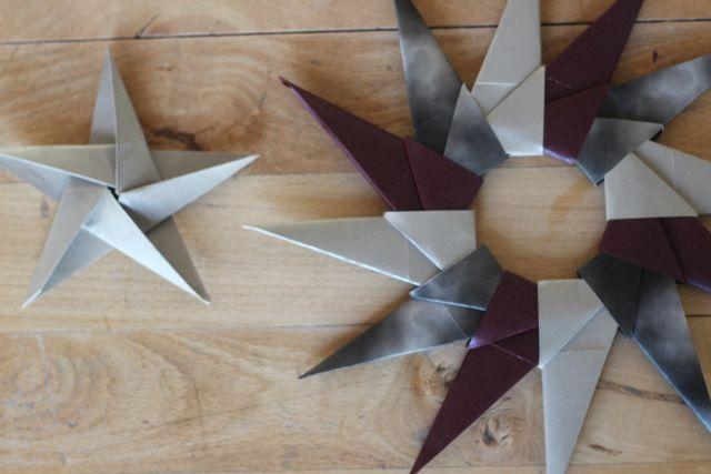 Origami - 12 takket stjerne