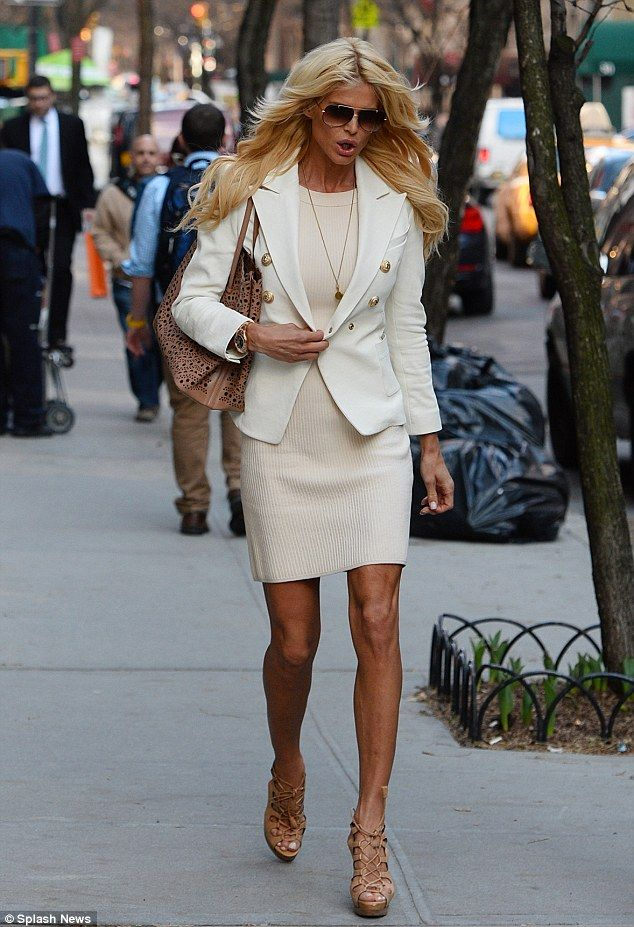 Victoria Silvstedt: an unlikely style icon but I like this look