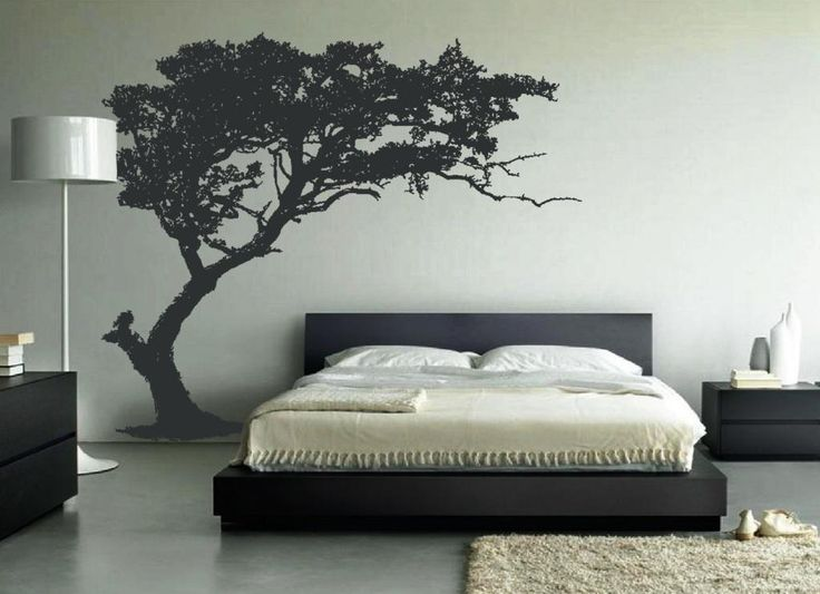 Elegant Tree Wall Sticker   Give A Touch Of Creativity To Your Home With  The Wall · Bedroom Wall DesignsBedroom ... Part 41