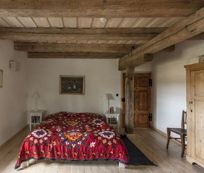 1st floor 2nd double bedroom - The Bat Barn Luxury Villa at Lake Balaton