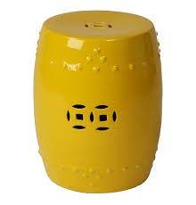 Drum seat yellow