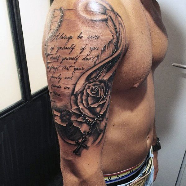 Best 25+ Religious Tattoos For Men Ideas On Pinterest