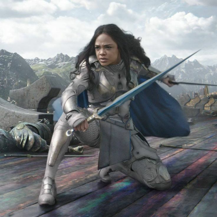Valkyrie Has The Best Suit For A Female Hero In The Mcu Female Avengers Marvel Cinematic Female Hero