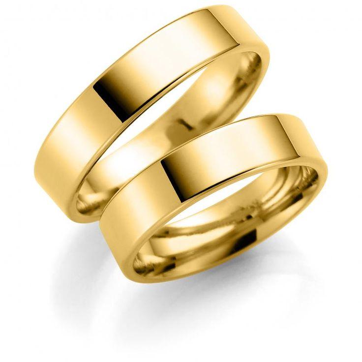 Forlovelsesringer/gifteringer+-+Bredde+5+mm+-+Espeland