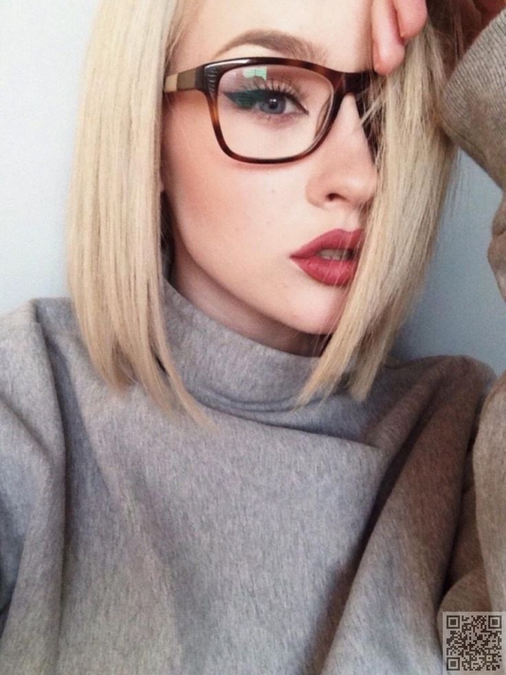 2. #Eyeliner is Key - 7 Handy #Makeup #Tricks for Gorgeous Gals with #Glasses ... → Makeup #Handy