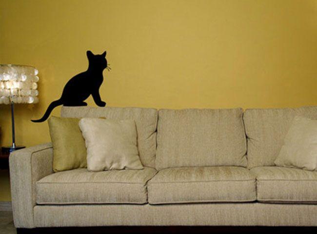 Wandtattoo - Kinderzimmer - Katze I
