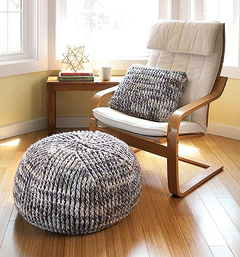 Learn How to Crochet Poufs & Pillows