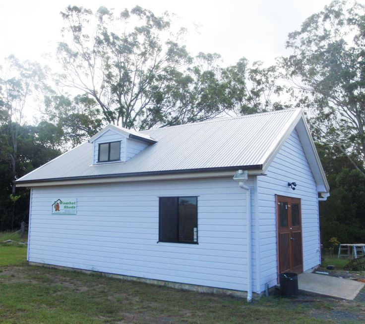 sheds to live in| timber Barns steel sheds - wombat