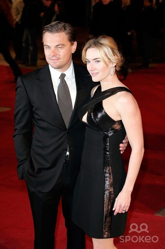 Kate Winslet and Leonardo Dicaprio Actors at the Revolutionary Road Film Premiere Kodeon Cinema, West End London 01-18-2009 Photo by Neil Tingle-allstar-Globe Photos