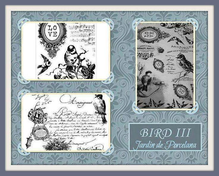 Calco BIRD III Resérvalooo. .. Pedilos en nuestra Fan - Page
