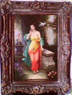 Imádom a régiségeket, és a művészetet.: Latin szépség, mediterrán virágoskertben