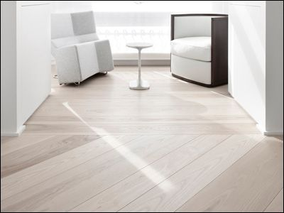white washed maple floors  LOVE