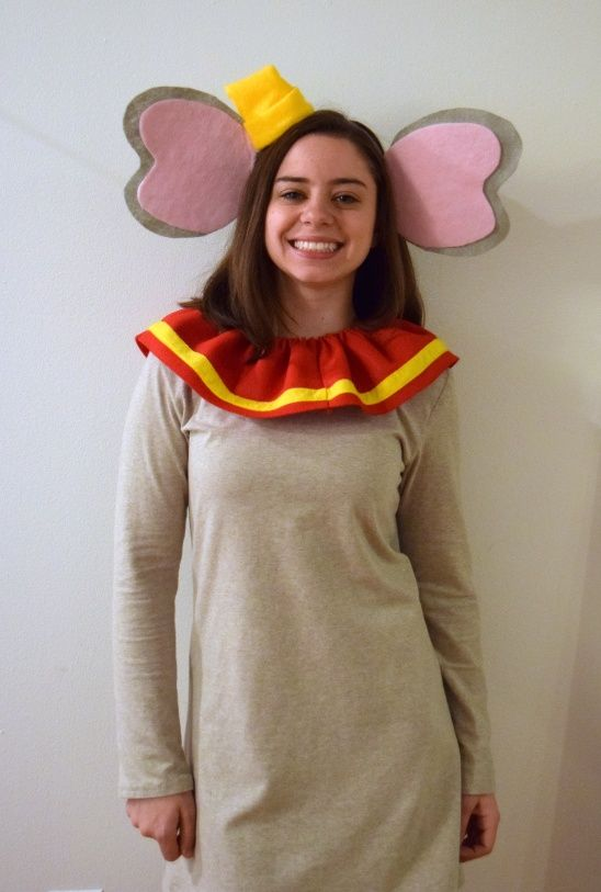 Handmade Halloween: Dumbo & Timothy by Trish Stitched | Project | Sewing / Dresses | Costumes | Kollabora
