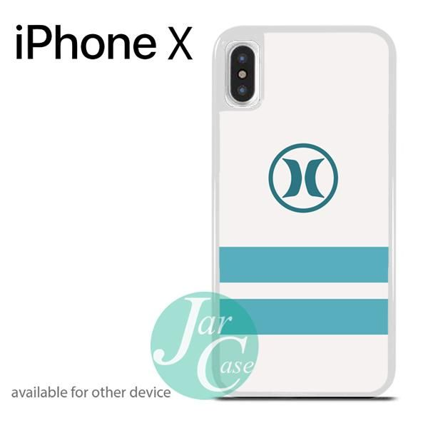 Hurley Soft Blue Strip Phone case for iPhone X