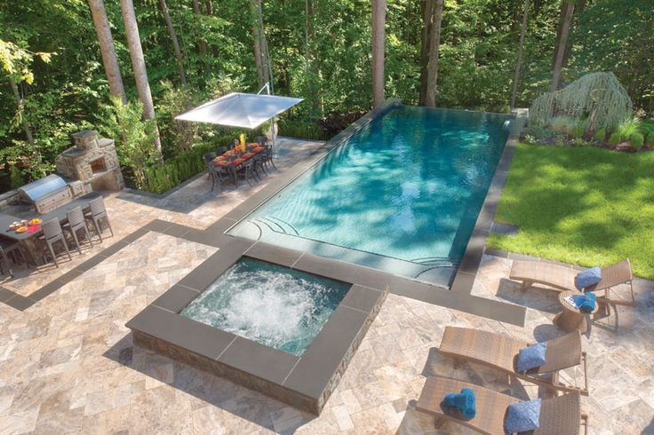17 best images about outdoor kitchens on pinterest l for Outdoor kitchen ideas with pools