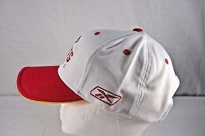6670cfd11d6 Kansas City Chiefs White Red Reebok Baseball Cap Adjustable in 2018 ...