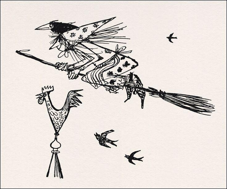 die kleine hexe  season of the witch illustrators