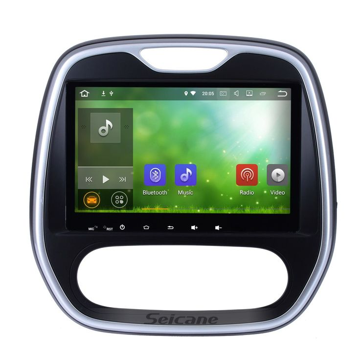 Seicane 9 inch Android 7.1 2011-2016 Renault Captur CLIO Samsung QM3 Manual A/C GPS Navigation Bluetooth USB WIFI Car Radio