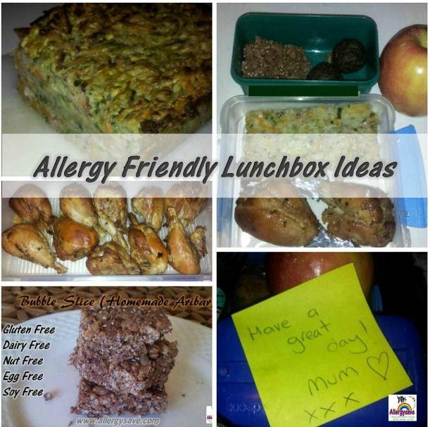 Allergy Friendly Lunchbox Ideas    www.allergysave.com