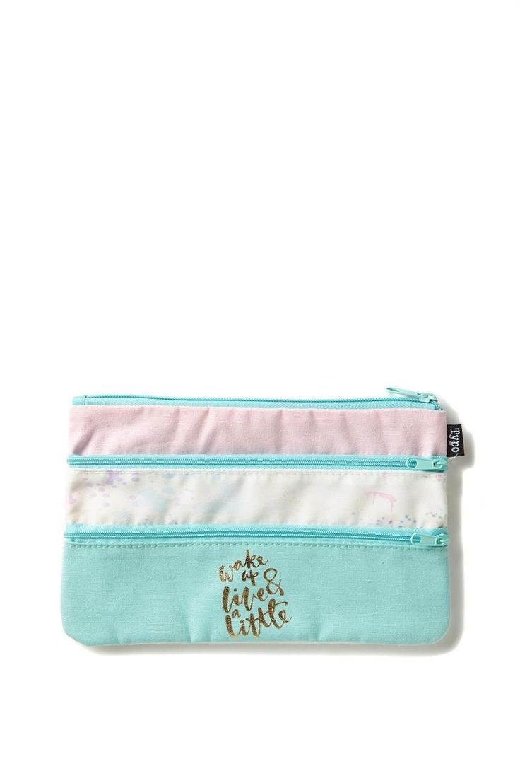 675adc43e9ab Store your stationery in style the Double Archer Pencil Case. This case is  perfect for your stationery