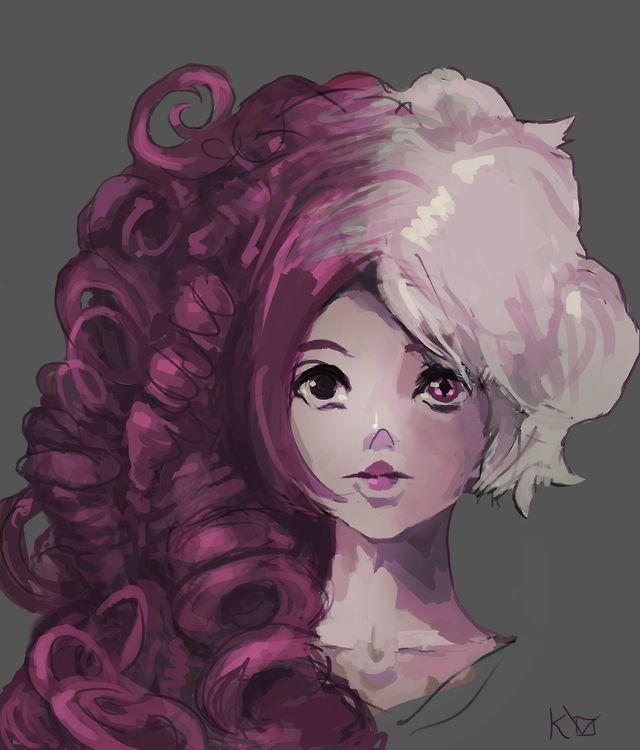 rose cuarzo diamante rosa