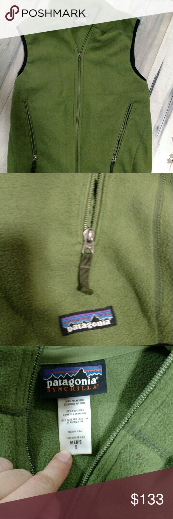 Patagonia vest Men's small but fits lady's great! Make an offer! Patagonia Jackets & Coats Vests