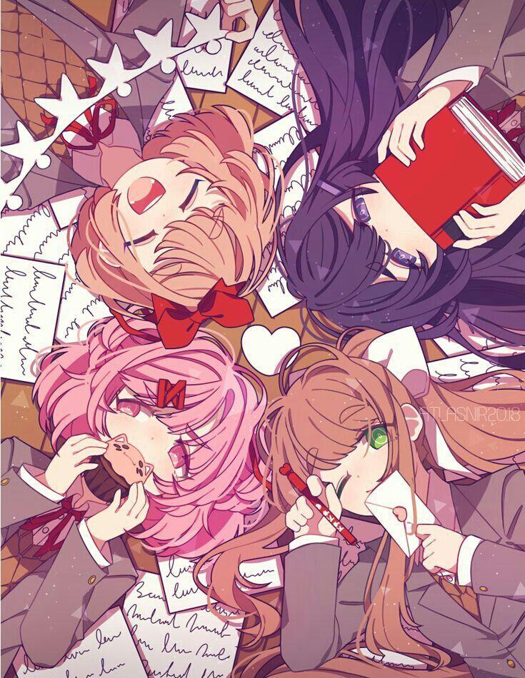 Ddlc Wallpapers Todas Literature club, Anime, Literature