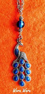 Collar Juno, digno de la reina de las diosas romanas http://twaruwaru.blogspot.com.es/2013/10/reina-de-diosas.html