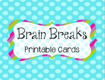 28 creative and fun brain breaks! $