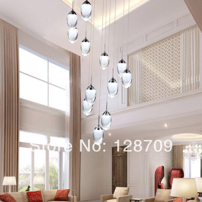 Zoek meer hanglampen Informatie over Moderne hybride  type trap hanglampen mode persoonlijkheid spiraal led led hanglamp voor eetkamer moderne hanglampen, Hoge Kwaliteit lamp zoeken, Chinese licht halogeenlamp Leveranciers, Goedkoop licht annulering van AIVQI Lighting Co., Ltd. op Aliexpress.com