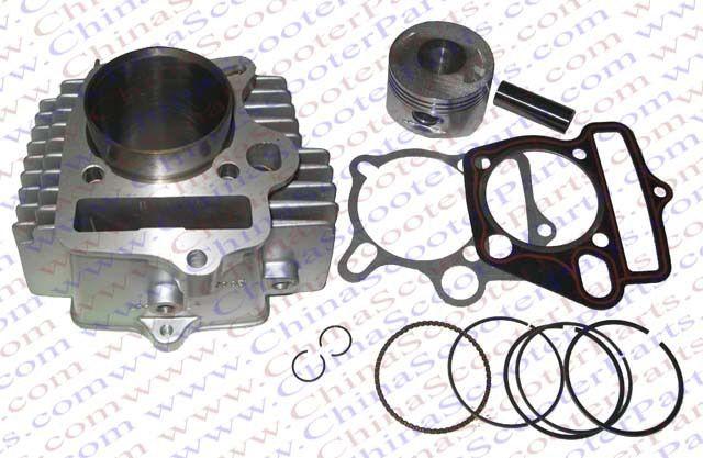 56.5MM 15MM 78MM Cylinder kit Lifan 150CC 1P56FMJ Engine Kaya Xmotos Apollo Tmax Pit Dirt  Bike Parts
