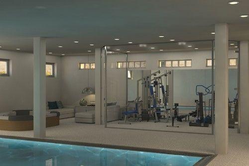 Best ideas about home gym basement on pinterest