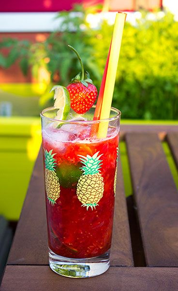 Erdbeer-Caipirinha - Sperli