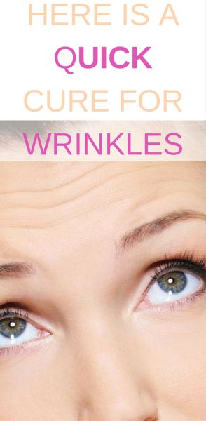 Here is a Quick cure for wrinkle. remove wrinkles in 7 days. garlic removes wrinkles fast.