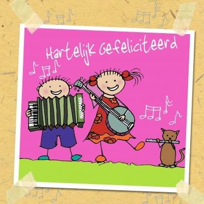 Flip muziek (Anet Illustraties)