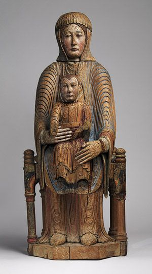 Virgin and Child ,1150–1200  French; Auvergne