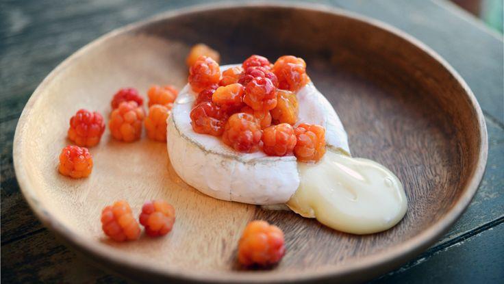 Oppskrift på bakt camembert med multer - Spesialitet