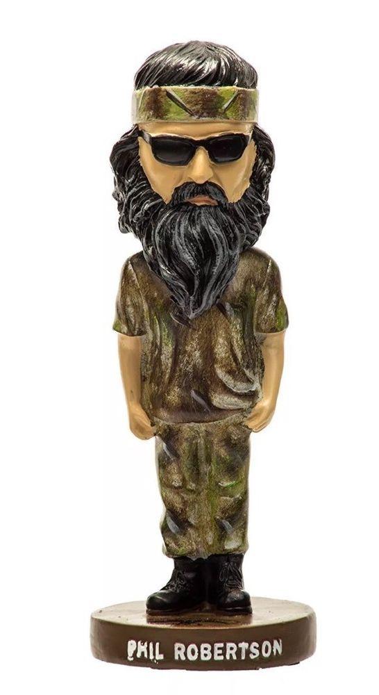 Duck Commander Bobble Head (Phil Robertson) Duck Dynasty - Brand New  | eBay