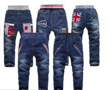 2015 di autunno della molla abbigliamento per bambini bambino causali del neonato kid jean per 3-8 età bambini dei jeans pantaloni lunghi  (China (Mainland))
