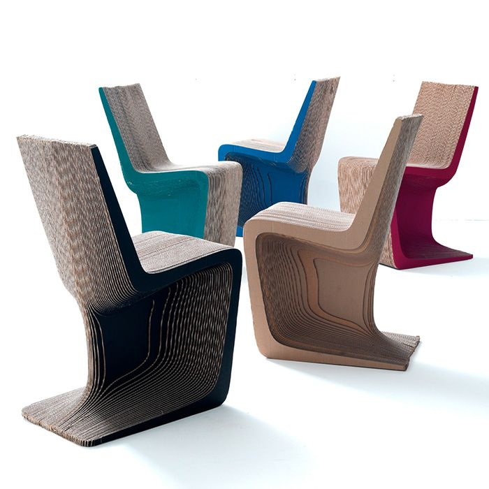 Find This Pin And More On фанера картон. Ara Cardboard Seating By E+. Chairs  In Cardboard
