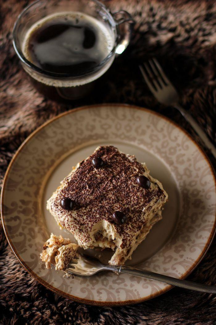 Bailey's Hazelnut Chocolate Tiramisu.  http://www.annabelchaffer.com/categories/Dining-Accessories/