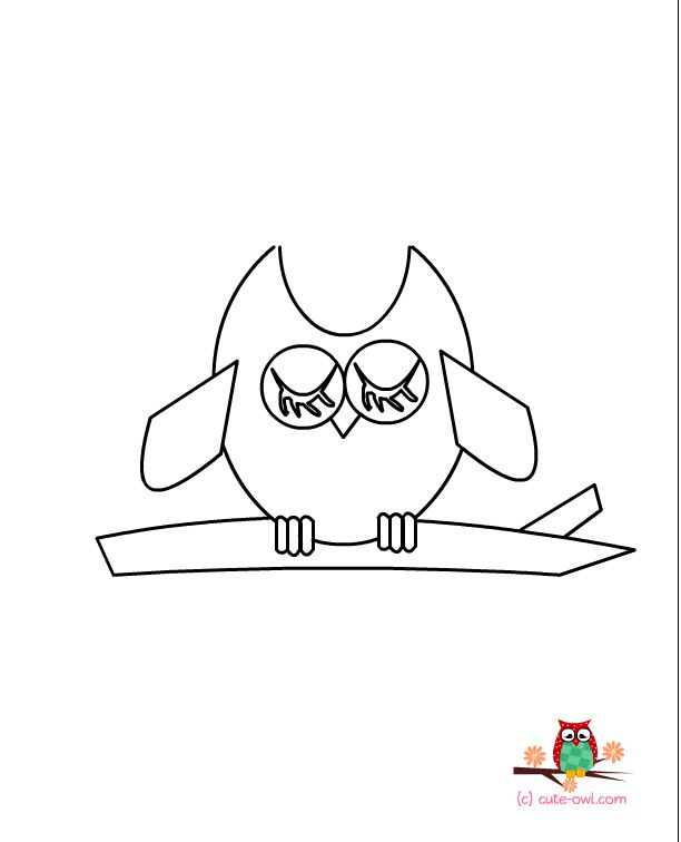41 best Owls Draw images on Pinterest Owl coloring pages Draw