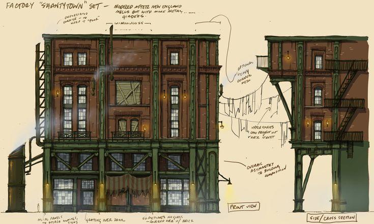 ArtStation - BioShock: Infinite Architecture - Finkton, Scott Duquette