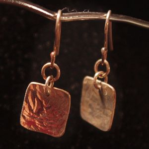 Square Off Earrings