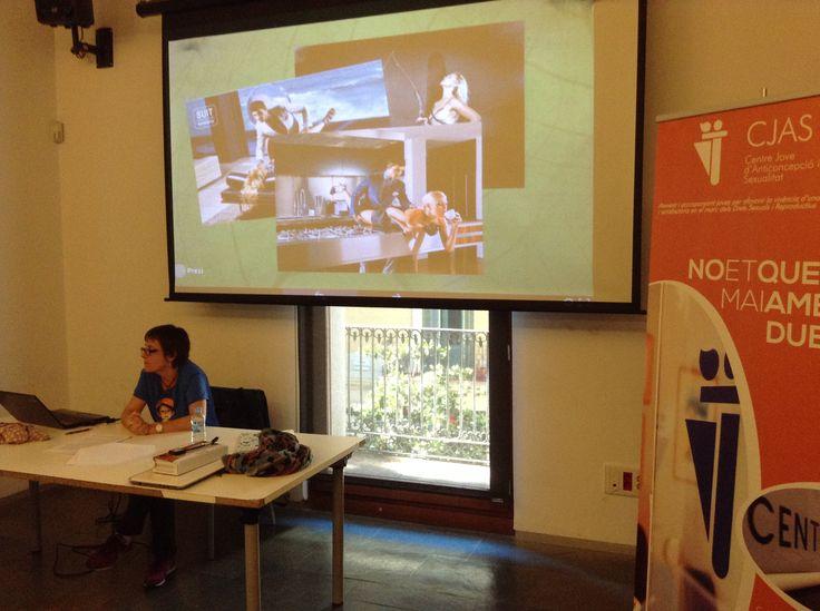 Rosa Sanchis ens parla de la seva experiència en el treball amb salut sexual amb adolescents en un institut de València