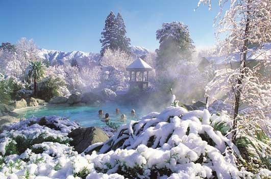 Hanmer Springs Thermal Pools, New Zealand