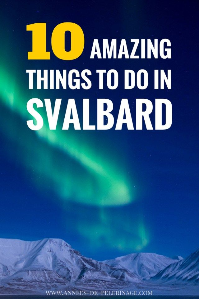 me in Spitsbergen. These are the top tourist attractions in Svalbard. There is more than just Longyearbyen and you really should consider a visit. Winter or Summer - travel to Spitsbergen anyway! Click for more information.