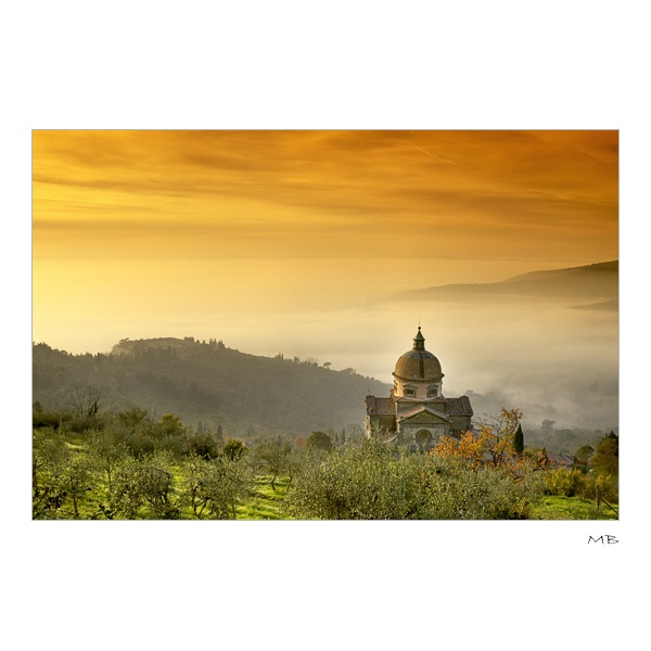 Cortona, Italy it really does look like this!